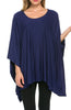 Lightweight Pull Over Knit Poncho Tunic Top - BodiLove | 30% Off First Order  - 7
