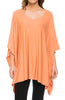 Lightweight Pull Over Knit Poncho Tunic Top - BodiLove | 30% Off First Order  - 8