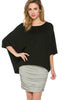 3/4 Kimono Sleeve Hi-Low Knit Top - BodiLove | 30% Off First Order  - 1