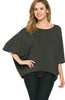 3/4 Kimono Sleeve Hi-Low Knit Top - BodiLove | 30% Off First Order  - 5