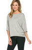 3/4 Kimono Sleeve Hi-Low Knit Top - BodiLove | 30% Off First Order  - 14