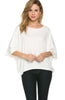3/4 Kimono Sleeve Hi-Low Knit Top - BodiLove | 30% Off First Order  - 17