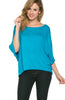 3/4 Kimono Sleeve Hi-Low Knit Top - BodiLove | 30% Off First Order  - 39