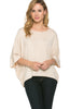 3/4 Kimono Sleeve Hi-Low Knit Top - BodiLove | 30% Off First Order  - 42