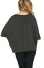 3/4 Kimono Sleeve Hi-Low Knit Top - BodiLove | 30% Off First Order  - 6