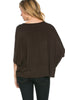 3/4 Kimono Sleeve Hi-Low Knit Top - BodiLove | 30% Off First Order  - 9