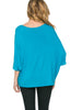 3/4 Kimono Sleeve Hi-Low Knit Top - BodiLove | 30% Off First Order  - 40