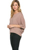 3/4 Kimono Sleeve Hi-Low Knit Top - BodiLove | 30% Off First Order  - 34