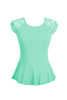 Lace Cap Sleeve Peplum Top | 30% Off First Order | Mint