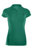 Cap Sleeve 5 Button Collared Polo Shirt | 30% Off First Order | Green