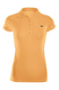Cap Sleeve 5 Button Collared Polo Shirt | 30% Off First Order | Light Orange