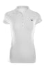 Cap Sleeve 5 Button Collared Polo Shirt | 30% Off First Order | White
