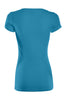 Casual Cap Sleeve Fitted V-Neck T-Shirt | 30% Off First Order | Jade
