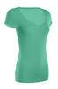 Casual Cap Sleeve Fitted V-Neck T-Shirt | 30% Off First Order | Mint
