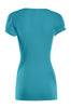 Short Sleeve Wrap Front Knit Top | 30% Off First Order | Turquoise1