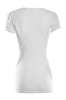 Short Sleeve Wrap Front Knit Top | 30% Off First Order | White1