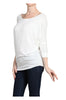 3/4 Dolman Sleeve Boat Neck Top - BodiLove | 30% Off First Order  - 41