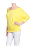 3/4 Dolman Sleeve Boat Neck Top - BodiLove | 30% Off First Order  - 48