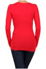 Basic Long Sleeve Scoop or V-Neck Top - BodiLove | 30% Off First Order  - 47