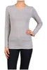 Basic Long Sleeve Scoop Neck Top - BodiLove | 30% Off First Order  - 21
