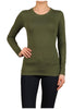 Basic Long Sleeve Scoop Neck Top - BodiLove | 30% Off First Order  - 31