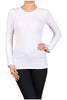 Basic Long Sleeve Scoop Neck Top - BodiLove | 30% Off First Order  - 61