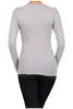 Basic Long Sleeve Scoop Neck Top - BodiLove | 30% Off First Order  - 22