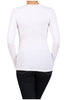Basic Long Sleeve Scoop Neck Top - BodiLove | 30% Off First Order  - 62