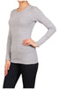 Basic Long Sleeve Scoop Neck Top - BodiLove | 30% Off First Order  - 23