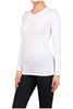 Basic Long Sleeve Scoop Neck Top - BodiLove | 30% Off First Order  - 63