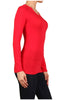 Basic Long Sleeve Scoop Neck Top - BodiLove | 30% Off First Order  - 44