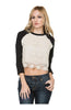 3/4 Dolman Sleeve Crochet Lace Front Top - BodiLove | 30% Off First Order  - 1