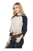 3/4 Dolman Sleeve Crochet Lace Front Top - BodiLove | 30% Off First Order  - 4