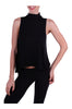Sleeveless Turtleneck Hi Low Crop Top - BodiLove | 30% Off First Order  - 3