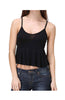 Spaghetti Strap Peplum Crop Top - BodiLove | 30% Off First Order  - 1
