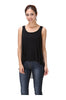 Sleeveless Draped Hi-Low Tank Top - BodiLove | 30% Off First Order  - 1