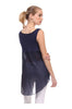 Sleeveless Draped Hi-Low Tank Top - BodiLove | 30% Off First Order  - 2