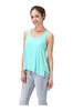 Sleeveless Draped Hi-Low Tank Top - BodiLove | 30% Off First Order  - 8