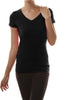Casual Short Sleeve V-Neck T-Shirt - BodiLove | 30% Off First Order  - 7