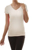 Casual Short Sleeve V-Neck T-Shirt - BodiLove | 30% Off First Order  - 29