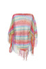 Sheer Lightweight Poncho Beach Coverup | 30% Off First Order | Multi