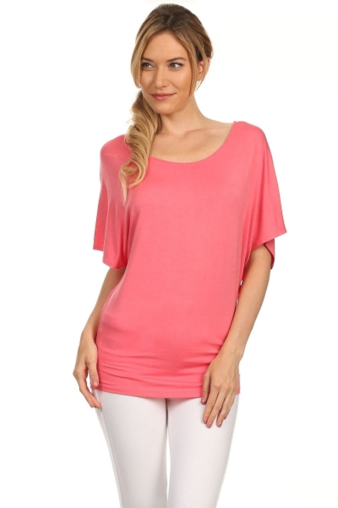 3/4 Kimono Sleeve Knit Top - BodiLove | 30% Off First Order  - 37