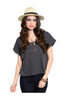 Basic Everyday Short Sleeve Boxy Crop Top - BodiLove | 30% Off First Order  - 3