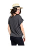 Basic Everyday Short Sleeve Boxy Crop Top - BodiLove | 30% Off First Order  - 4