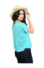 Basic Everyday Short Sleeve Boxy Crop Top - BodiLove | 30% Off First Order  - 6