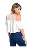Short Sleeve Crop Top W/ Cutout Shoulders - BodiLove | 30% Off First Order  - 6