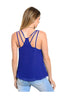 Sleeveless Chiffon Tank Top W/ Strappy Back Detail - BodiLove | 30% Off First Order  - 6