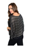 Striped 3/4 Kimono Sleeve Top - BodiLove | 30% Off First Order  - 2