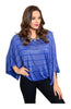 Striped 3/4 Kimono Sleeve Top - BodiLove | 30% Off First Order  - 3