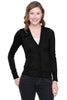 Long Sleeve Button Down Cardigan | 30% Off First Order | Black